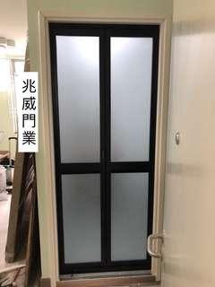 廁所廚房鋁摺門巴士門吊趟門浴屏