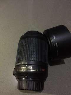 Nikon DX AF-S Nikkor 55-200 mm 1:4-5.6G ED  Included: •Nikon DX AF-S Nikkor 55-200 mm 1:4-5.6G ED •HB-37 Nikon Lens Hood for Nikon DX AF-S Nikkor 55-200 mm 1:4-5.6G ED •Nikon CL-0815 Soft Lens Case for Nikon  DX AF-S Nikkor 55-200 mm 1:4-5.6G ED