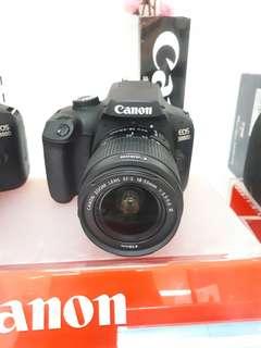 Kamera Canon EOS 3000d New DSLR (Kredit MURAH)