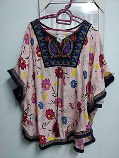 Blouse boho top #july100