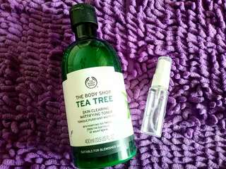 Tea tree toner the body shop