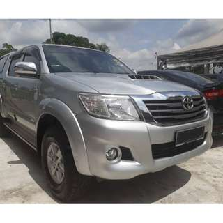 near 2015 Toyota HILUX 2.5 G VNT (A) 1 OWNER ONLY