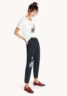 Pomelo - Fanny Distressed Jeans