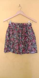 Colorbox Summer Floral Skirt