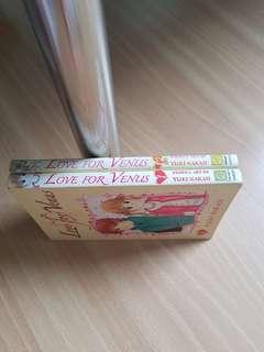 Manga Love for Venus.  Books 1 and 12