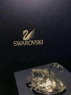 Swarovski 施華洛世奇水晶 小天鵝 swan