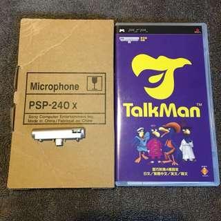 🚚 Game PSP UMD + Microphone