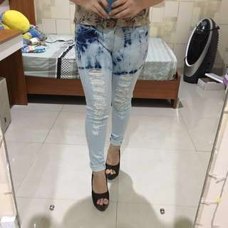 Soft jeans from