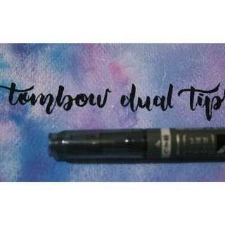 Tombow Brush Pen Dual Tip