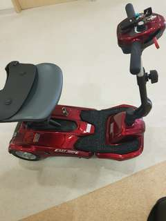 Lightest Mobility scooter with remote control