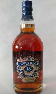 CHIVAS Regal Scotch 18年 (1.75Litres) 冇盒