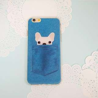Animal pocket case iphone 6/6s