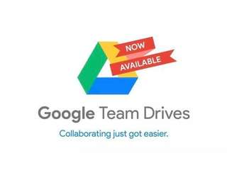 Unlimited google drive (TEAM DRIVE)