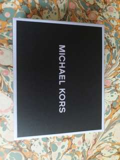 MICHAEL KORS Black Wallet 黑色銀包