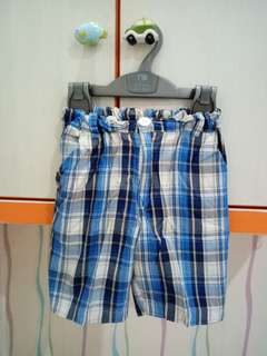 Blue stripped pants for kid