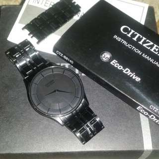 Citizen Eco Drive Stiletto Black AR3015-53E