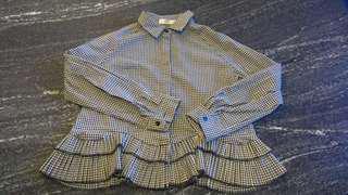 Checkered Top Shirt Japan