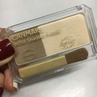 95%New Canmake 光影/鼻影粉