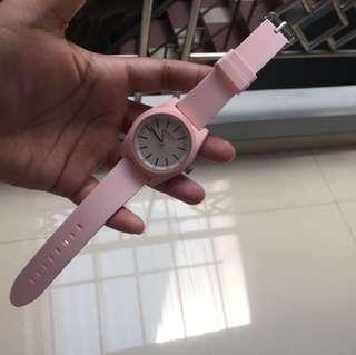 REPOST❗️Pink Miniso Watch