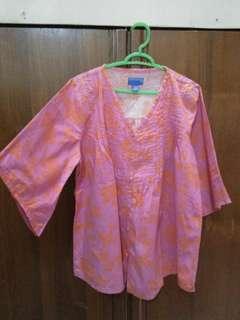Baju batik carina swarovski