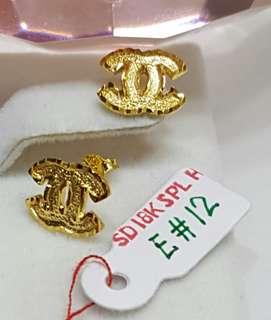 18k SG Earings