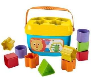 🚚 Fisher Price Baby's First Blocks