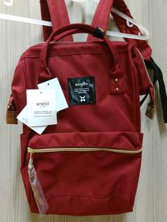 Anello Backpack Maroon Size Medium Brand New Authentic