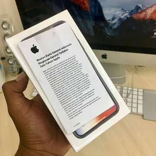 Iphone X 64gb New Ibox garansi 1 tahun