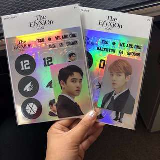 [WTB] EXO Deco Sticker Kit