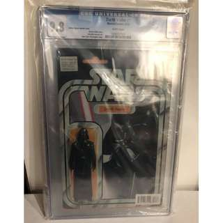 CGC 9.8 Star Wars Darth Vader #1 Darth Vader Action Figure Variant by John Tyler Christopher