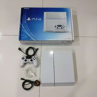 Playstation 4 white fat