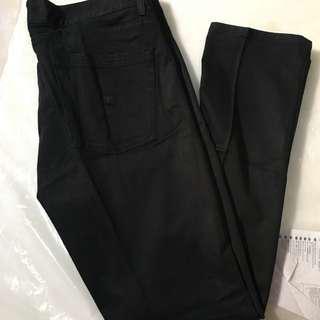 Krew taper kslim black denim celana jeans size 36 HARGA PAS!
