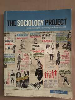 The Sociology Project Introducing the Sociological Imagination
