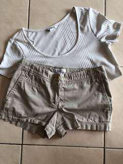 MNG shorts and MonKI Top