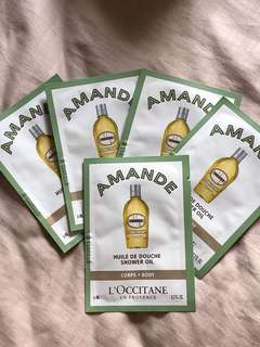 LOCCITANE AMANDE SHOWER OIL