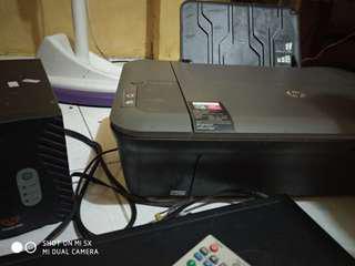 Di jual paket printer+stabilizer+dvd