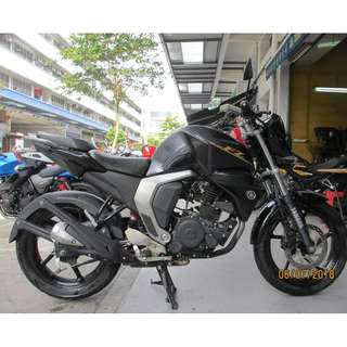 Yamaha FZN150 2016 $8.8K Nego D/P $500 or $0 With out insurance (Terms and conditions apply. Pls call 67468582 De Xing Motor Pte Ltd Blk 3006 Ubi Road 1 #01-356 S 408700.