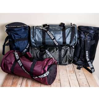 Senior High Varsity Duffel Gym Bags