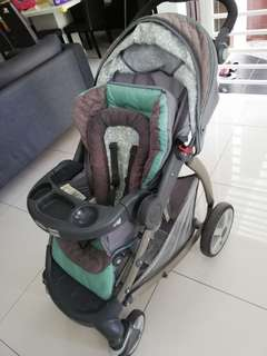 Graco Snugride Classic Connect Stroller & Car Seat
