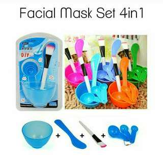 Facial Mask Set 4in1
