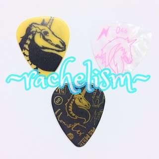 *New* [Limited Edition] Set of 3 - Mayday 五月天 Monster 怪獸 Unicorn 獨角獸 Official Guitar Picks