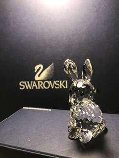 Swarovski 施華洛世奇水晶 兔仔 擺設