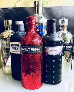 Limited Edition Absolut Casing/ Empty Bottle