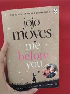 English novel Me Before You by Jojo Moyes