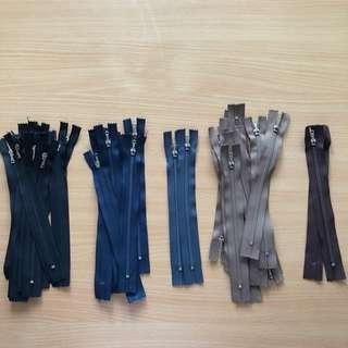 Bundle Sale : YKK Zips (New)