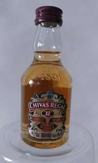 CHIVAS Regal 12年酒版 (50ml)