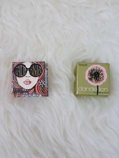 BENEFIT Galifornia & Dandelion Blush