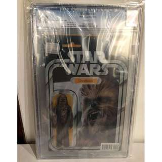 CGC 9.8 Star Wars #4 Chewbacca Action Figure Variant by John Tyler Christopher