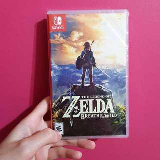 BNIB The Legend of Zelda Breath of the WIld