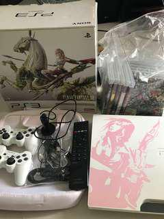 Ps 3 - final fantasy XIII 250G lighting edition